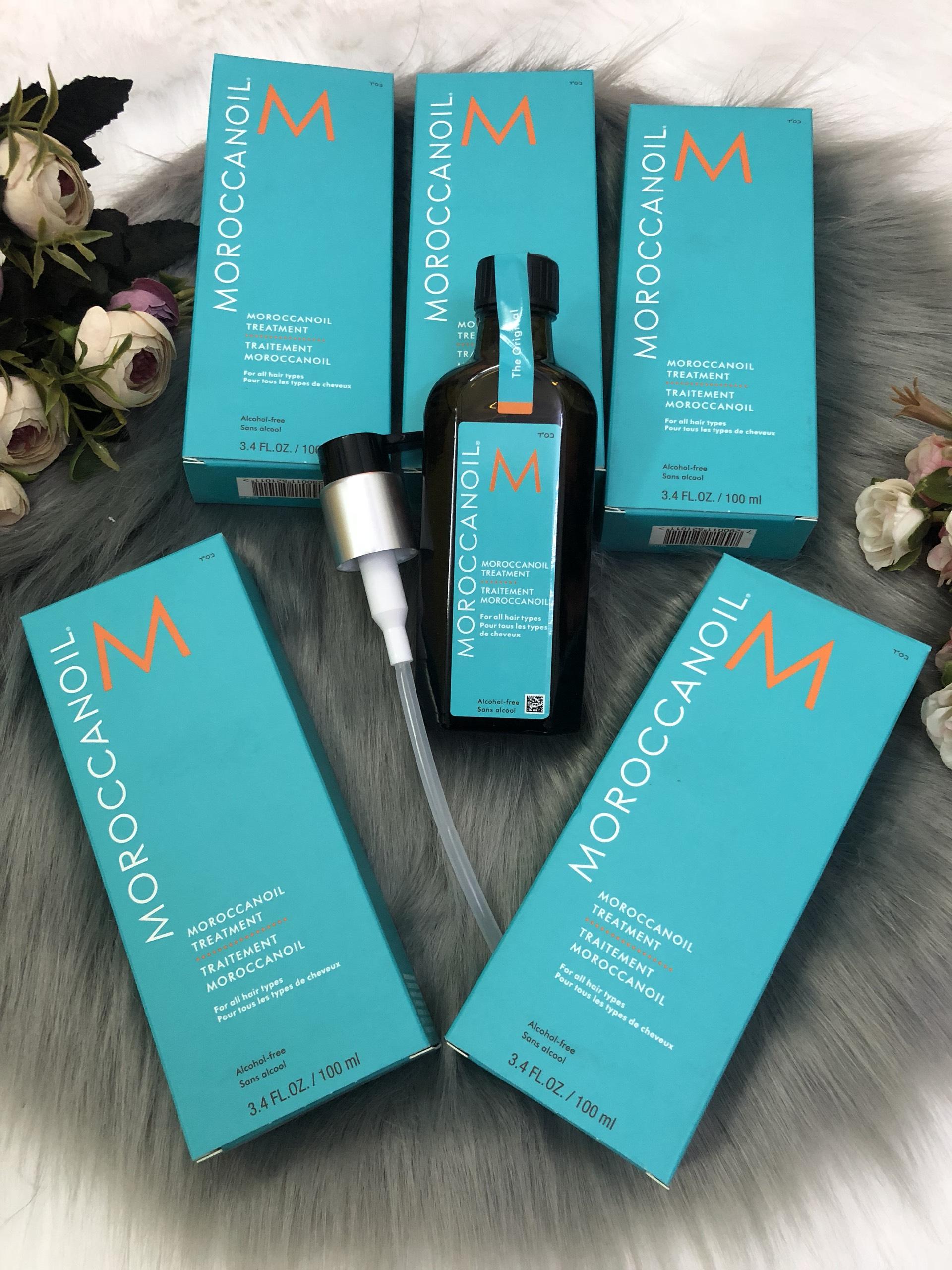 Tinh dầu Moroccanoil dưỡng tóc mềm mượt