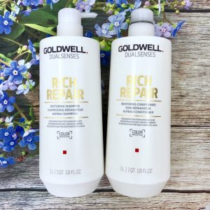 Dầu gội xả Goldwell phục hồi tóc hư tổn Đức