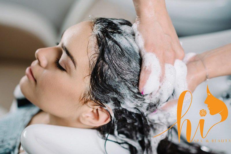 Mái tóc sạch, chắc khỏe sau khi gội đầu dưỡng sinh