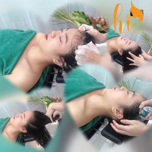 Gội đầu dưỡng sinh giảm tóc gãy rụng và Refresh cơ thể mệt mõi