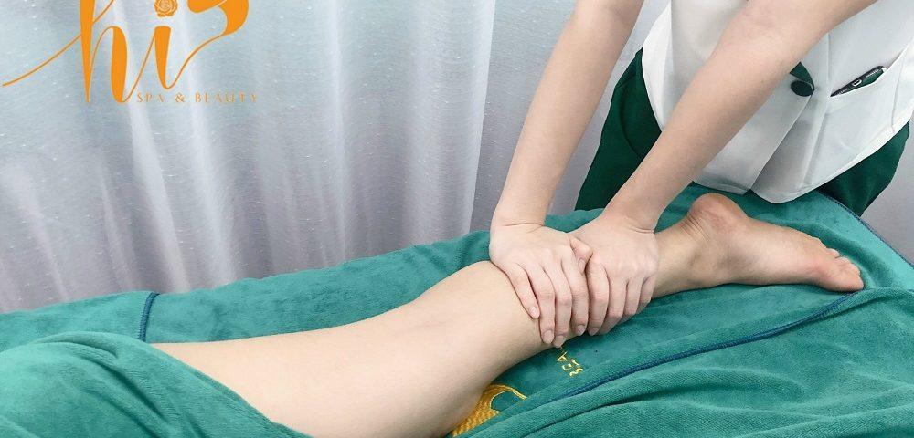Massage chân giúp lưu thông tuần hoàn máu