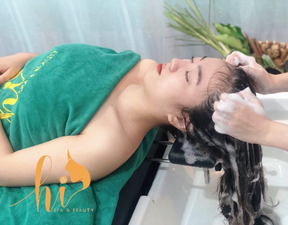 SpaChăm sóc tóc mềm mượt tại Hi SPa